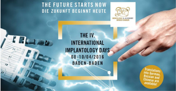 The IV International Implantology Days